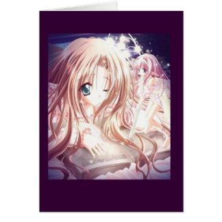 manga-girl card