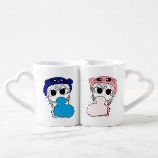 Manga in Love Coffee Mug Set