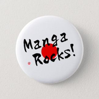 Manga Rocks! 2 Inch Round Button