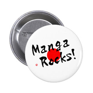 Manga Rocks! 2 Inch Round Button