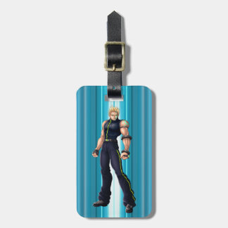 Manga Video Game Hero Luggage Tag