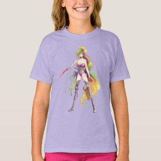 Manga Warrior Woman T-Shirt