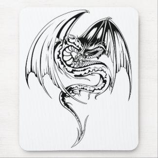 Manga Wyvern Dragon Mouse Pad