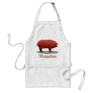 Mangalitsa pig standard apron