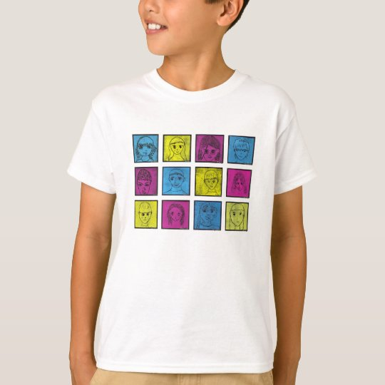 Mangas Series 4 T-Shirt