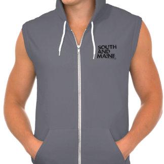 Mange s Choice The Ripped Spade SL Fleece Hood Hooded Sweatshirt