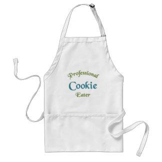 Mangeur professionnel de biscuit tablier