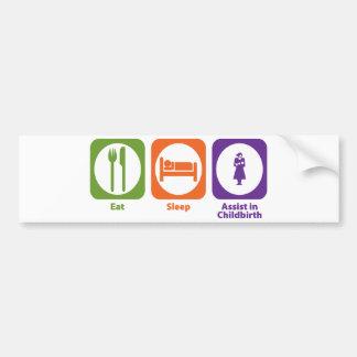 Mangez l aide de sommeil dans l accouchement adhésif pour voiture