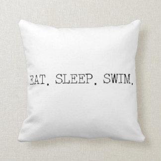 Mangez le bain de sommeil oreillers