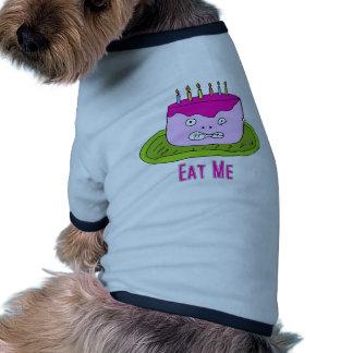 Mangez le gâteau vêtement pour chien