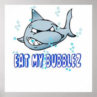 Mangez mon Bubblez Poster
