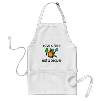 Mangez un castor tablier