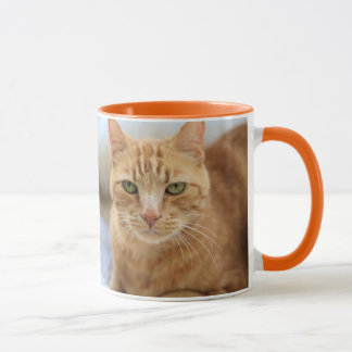 Mango - 11oz Classic Mug, Orange Mug