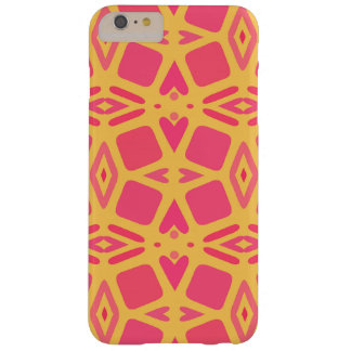 Mango and Papaya Hearts and Cubes Barely There iPhone 6 Plus Case