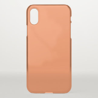 Mango Clear iPhone X Case