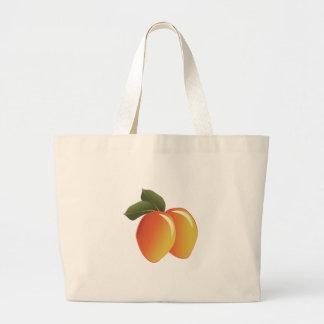 Mango Fruit Large Tote Bag