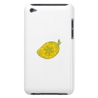 Mango Fruit Mandala Barely There iPod Covers