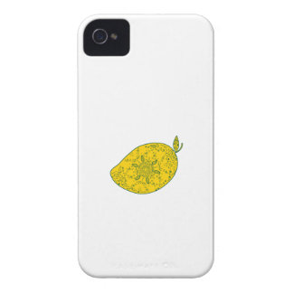 Mango Fruit Mandala iPhone 4 Case-Mate Cases