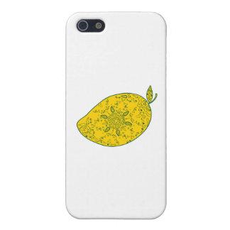 Mango Fruit Mandala iPhone 5/5S Cases
