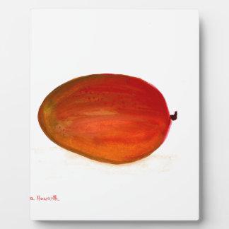 Mango fruit plaque