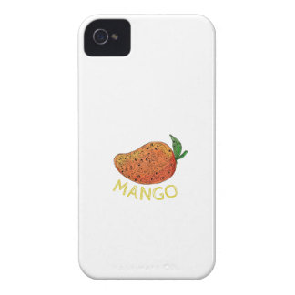 Mango Juicy Fruit Mandala Case-Mate iPhone 4 Cases