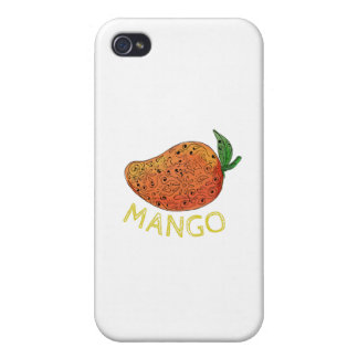 Mango Juicy Fruit Mandala iPhone 4/4S Case