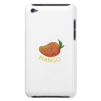 Mango Juicy Fruit Mandala iPod Case-Mate Case