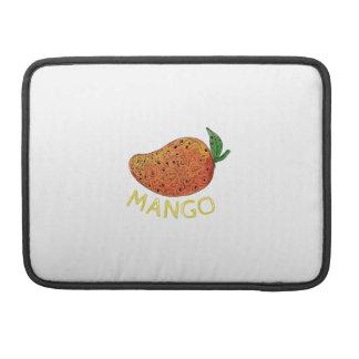 Mango Juicy Fruit Mandala Sleeve For MacBook Pro