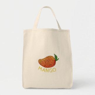 Mango Juicy Fruit Mandala Tote Bag