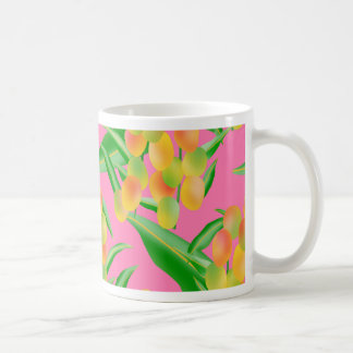 Mango Print Coffee Mug
