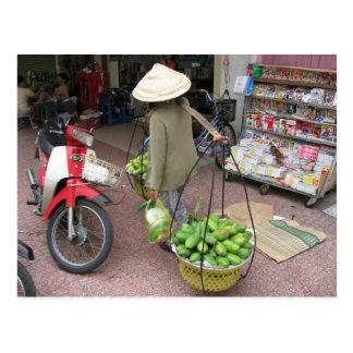 Mango Seller Postcard