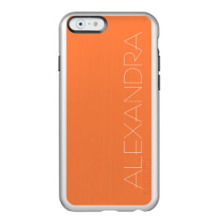 Mango Solid Color Incipio Feather® Shine iPhone 6 Case