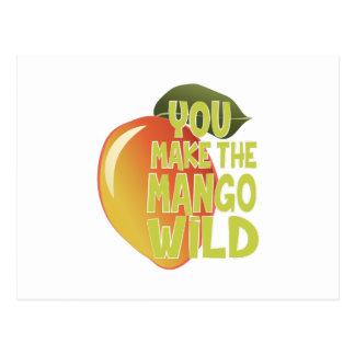 Mango Wild Postcard