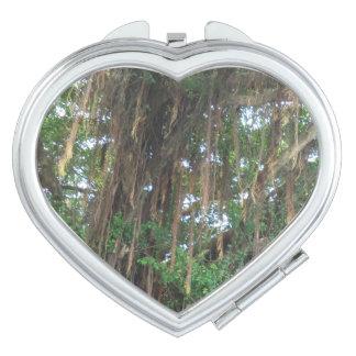 Mangrove Heart Compact Mirror