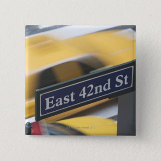Manhattan 2 Inch Square Button