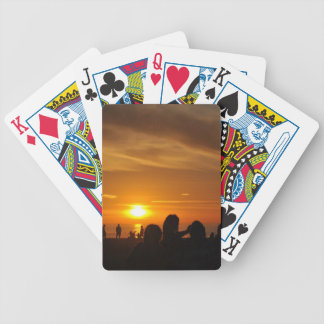 Manhattan Beach Bicycle Playing Cards