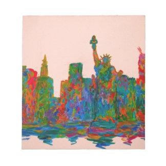 Manhattan Beauty Notepad