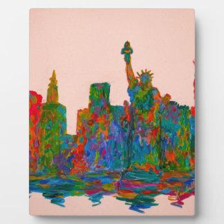 Manhattan Beauty Plaque