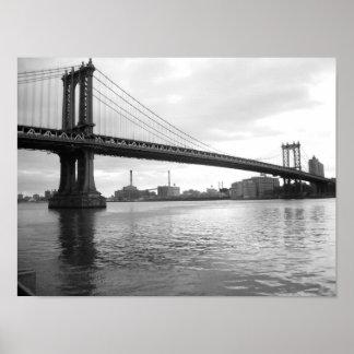 Manhattan Bridge - 15 x 11 poster - No Border