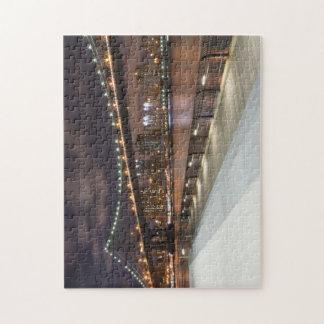 Manhattan Bridge and NYC Skyline Puzzle