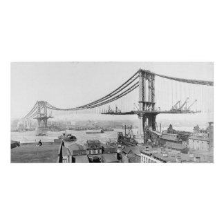 Manhattan Bridge Construction 1909 Photo Cards