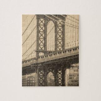 Manhattan Bridge Jigsaw Puzzle