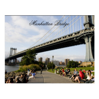 Manhattan Bridge, New york Postcard