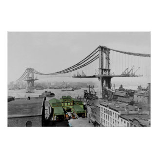 Manhattan Bridge New York Poster