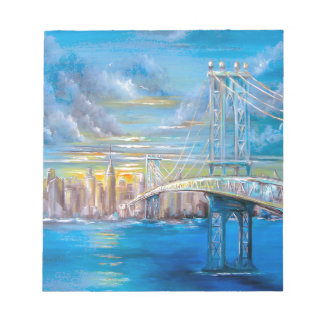 Manhattan Bridge Notepad