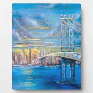 Manhattan Bridge Plaque