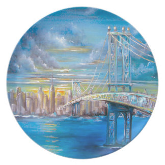 Manhattan Bridge Plate