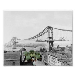 Manhattan Bridge Print Photo Print
