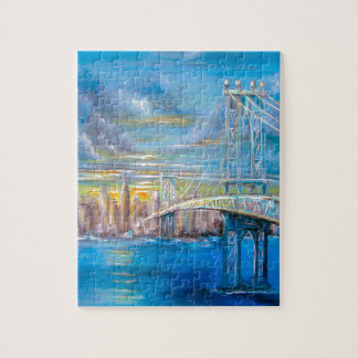 Manhattan Bridge Puzzle
