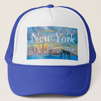 Manhattan Bridge Trucker Hat